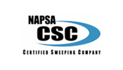 NAPSA CSC certified sweeping compay logo